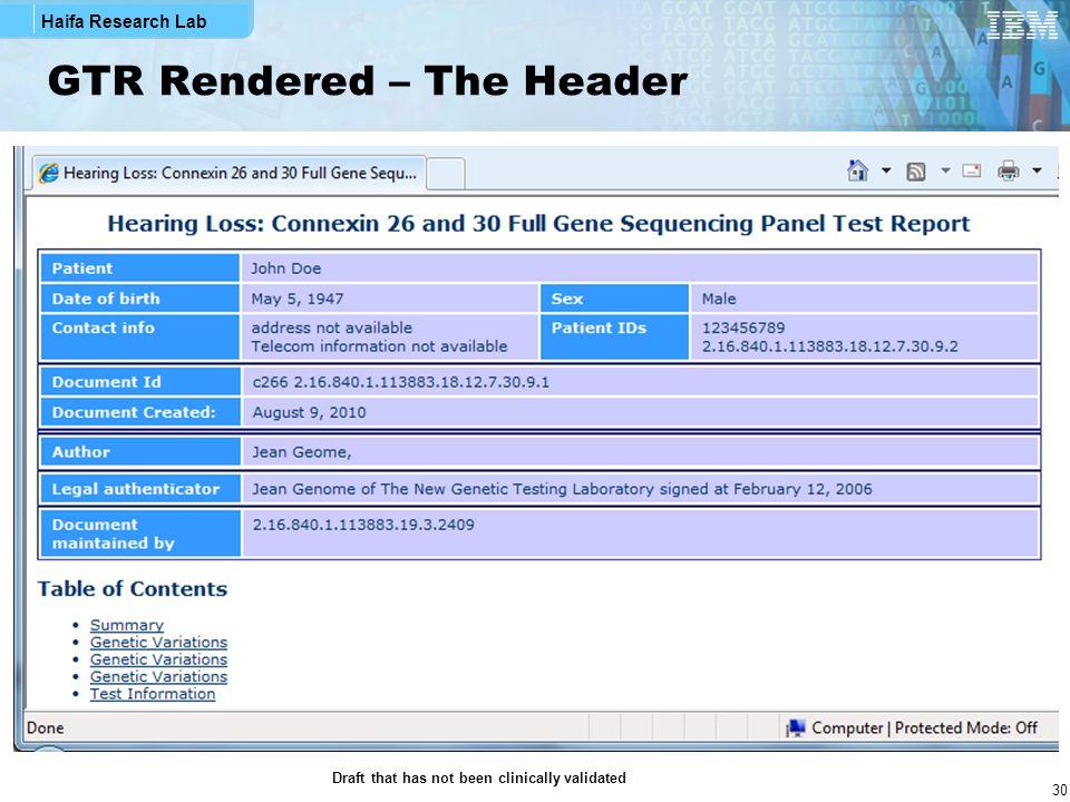 GTR Rendered – The Header