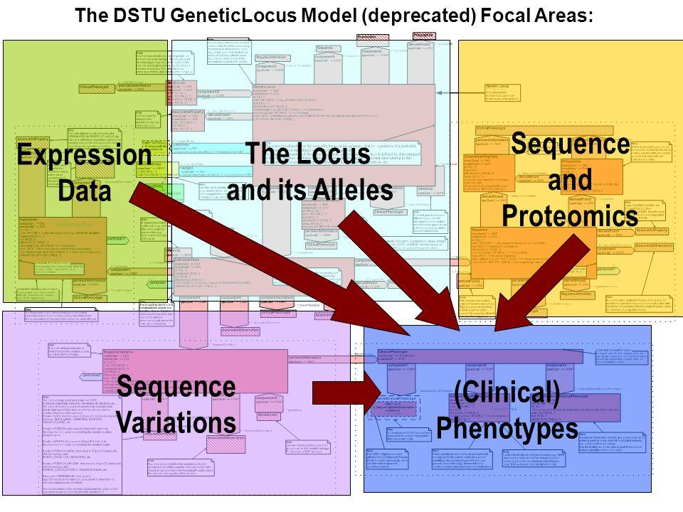 The DSTU GeneticLocus Model (deprecated) Focal Areas: