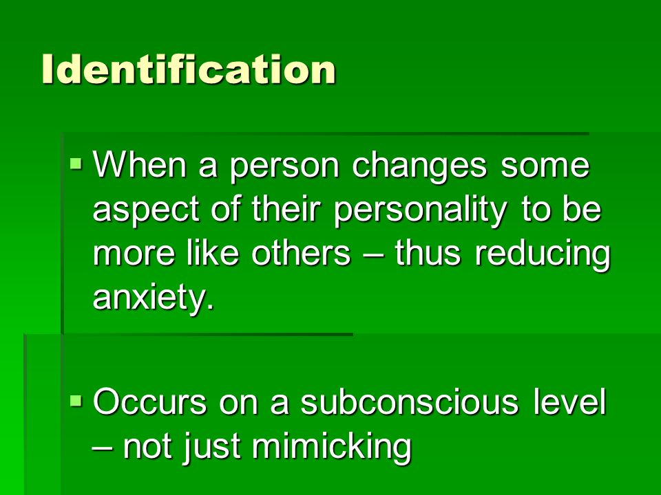 actions as a result of subconscious mechanisms Guide to help understand and demonstrate coping mechanisms within  the result of significant life  about their use of these subconscious ego defense mechanisms.