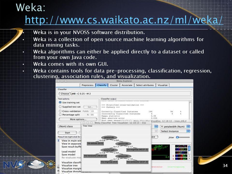 Weka: http://www.cs.waikato.ac.nz/ml/weka/