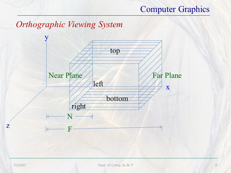 Orthographic Viewing System
