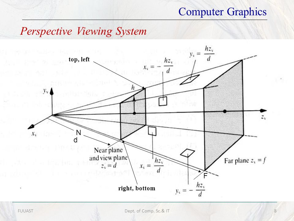 Perspective Viewing System