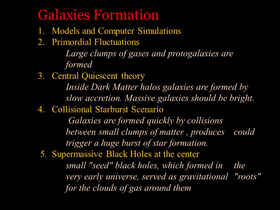 Galaxies Formation Models and Computer Simulations