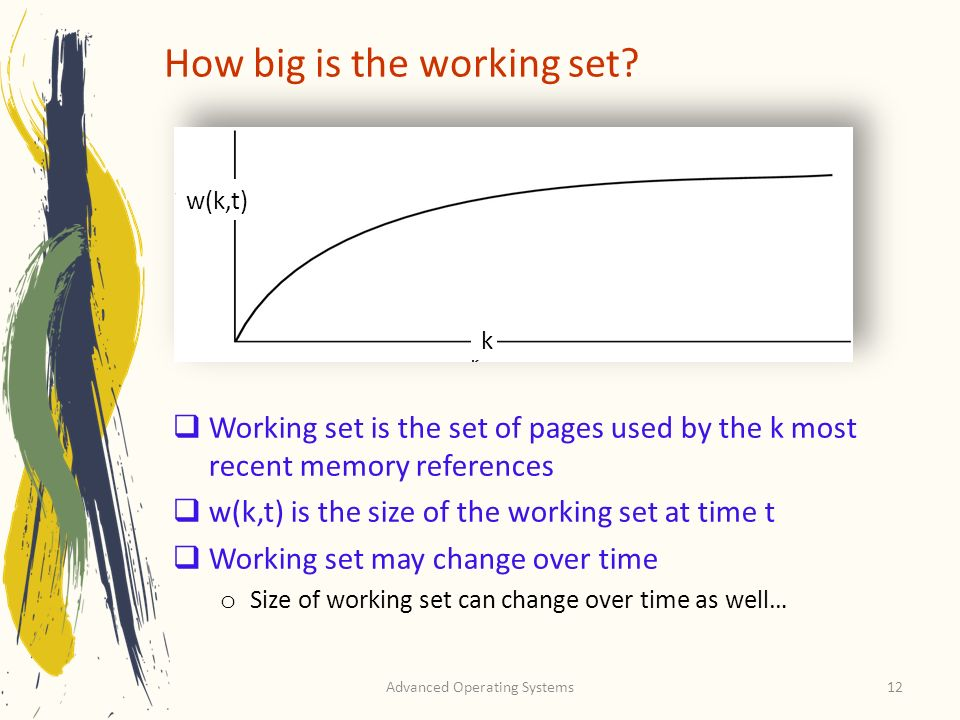 How big is the working set