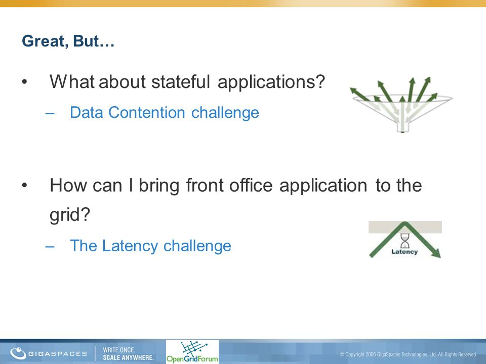 What about stateful applications