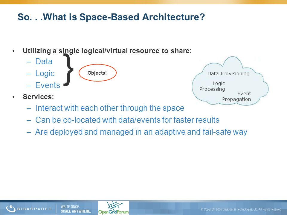 So. . .What is Space-Based Architecture