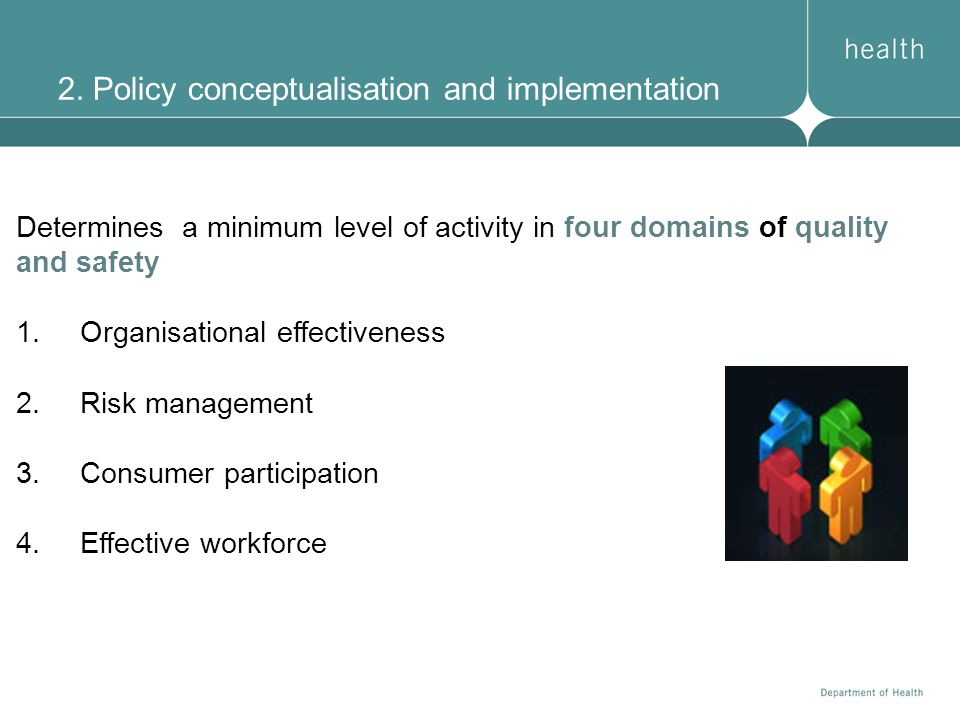 2. Policy conceptualisation and implementation