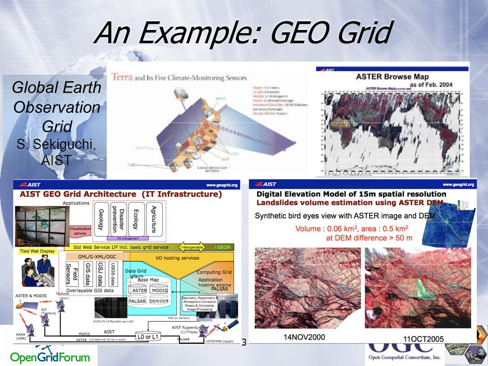 Global Earth Observation Grid