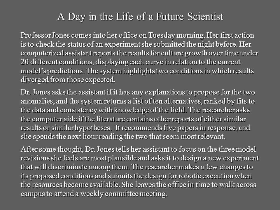 A Day in the Life of a Future Scientist