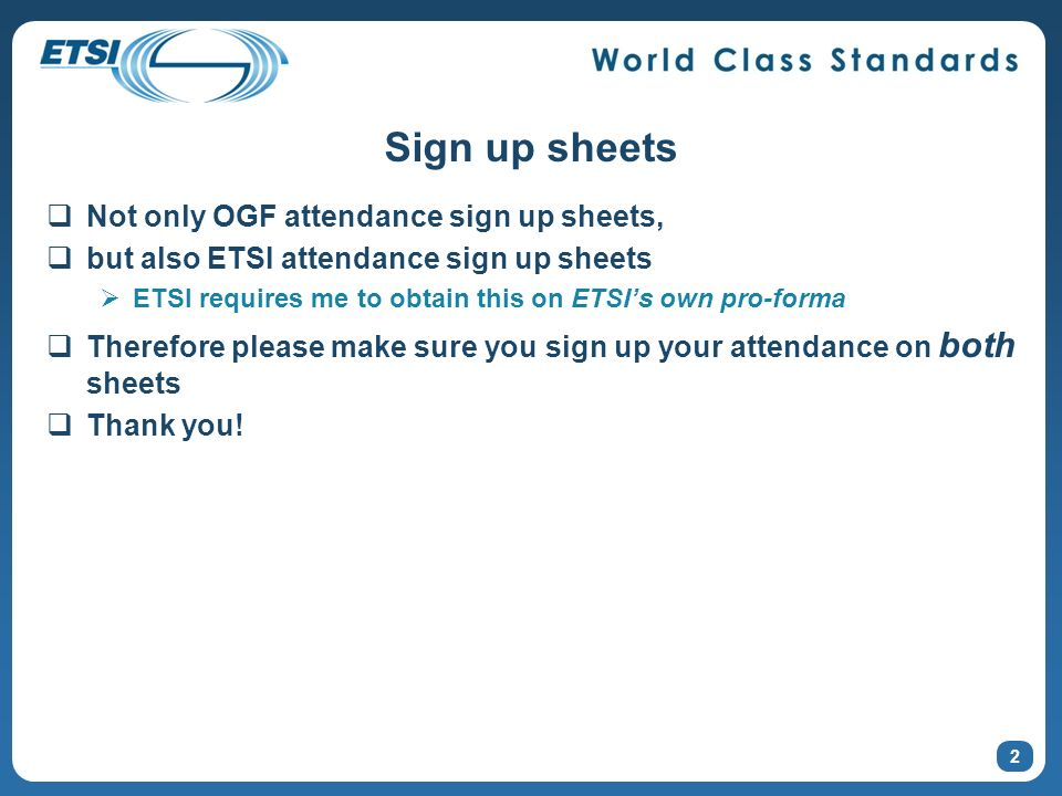 Sign up sheets Not only OGF attendance sign up sheets,