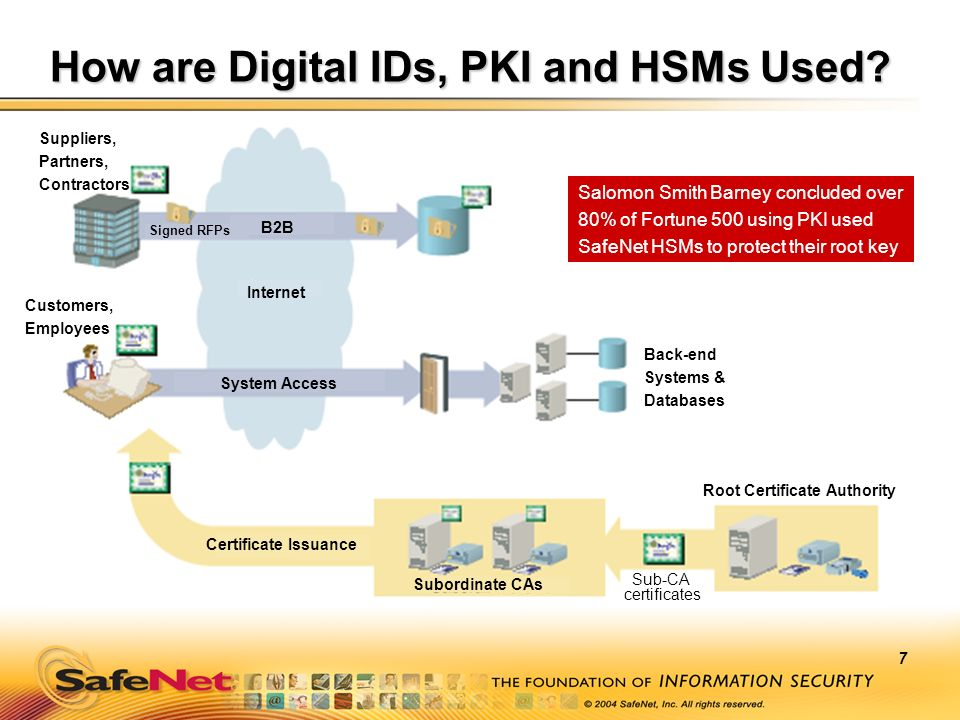 How are Digital IDs, PKI and HSMs Used