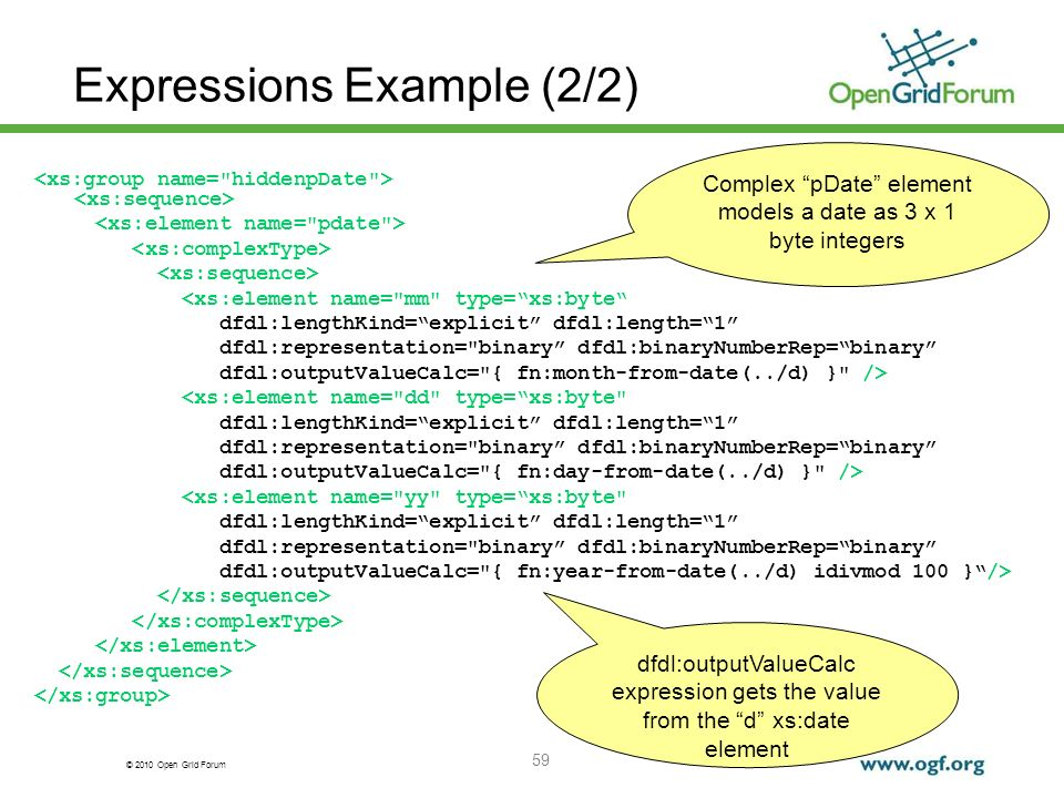 Expressions Example (2/2)