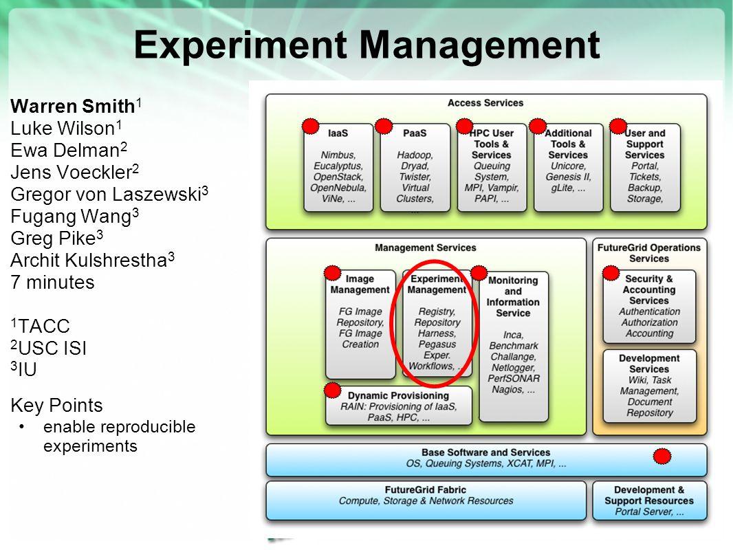 Experiment Management