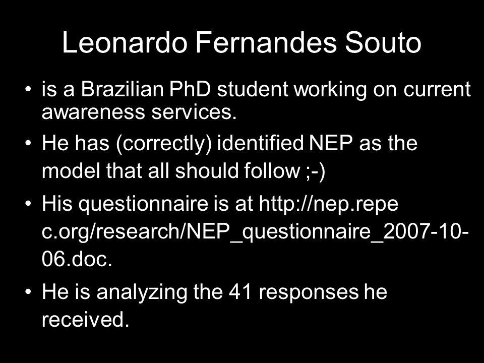 Leonardo Fernandes Souto