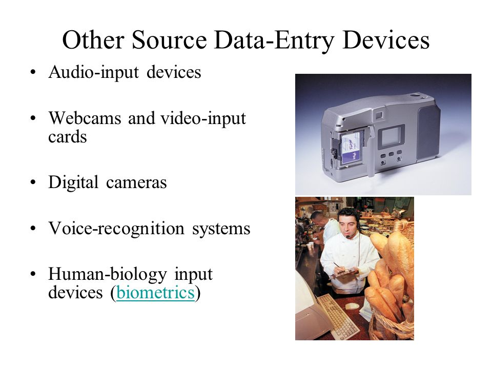 Other Source Data-Entry Devices