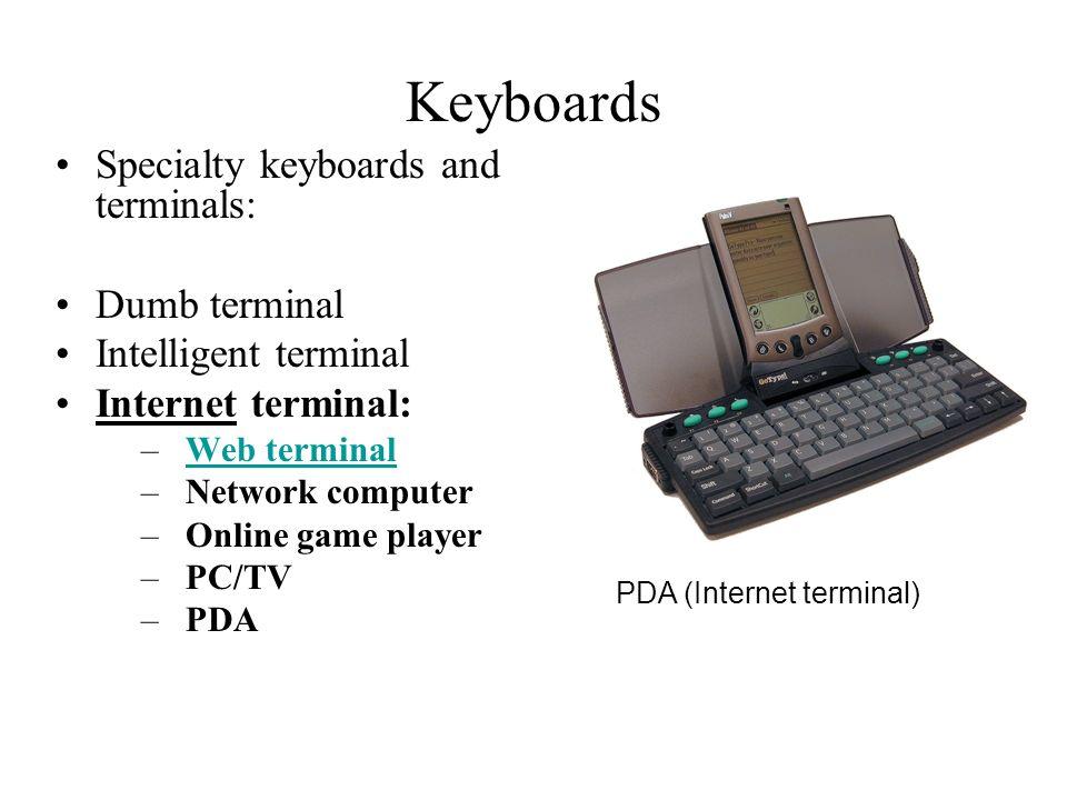 PDA (Internet terminal)