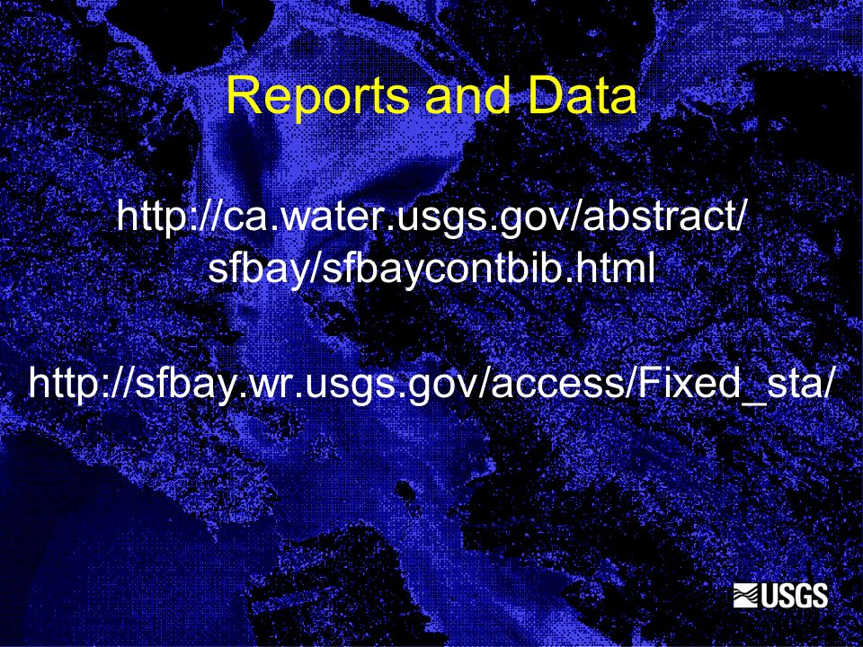 Reports and Data http://ca. water. usgs