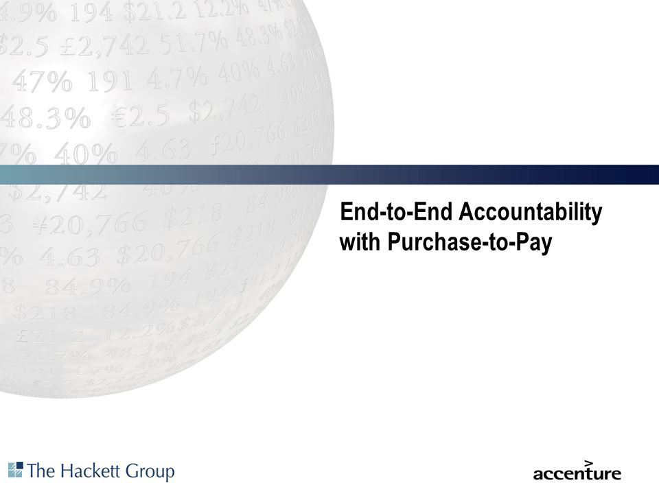 End-to-End Accountability with Purchase-to-Pay