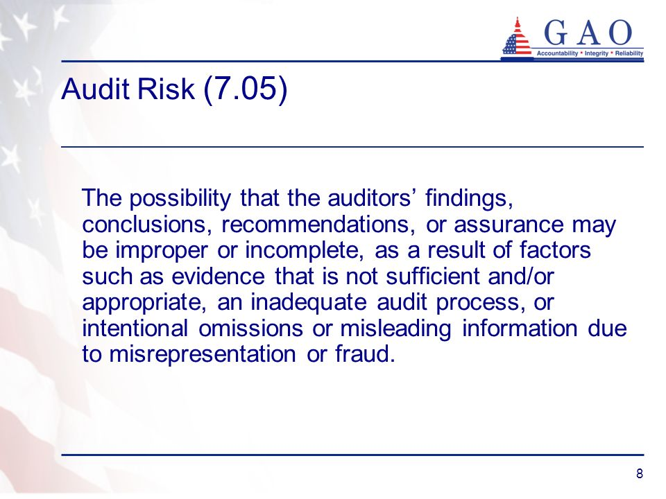 Audit Risk (7.05)