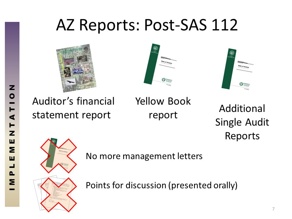 Additional Single Audit Reports