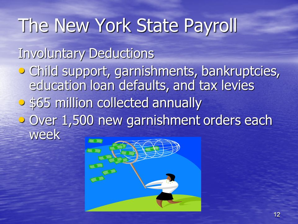 The New York State Payroll