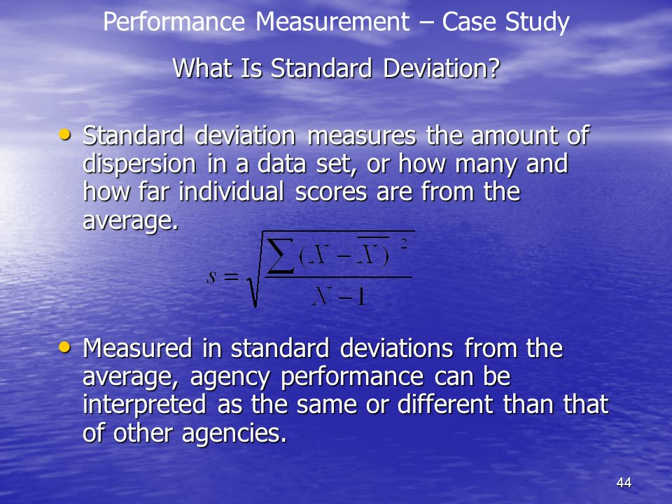 What Is Standard Deviation
