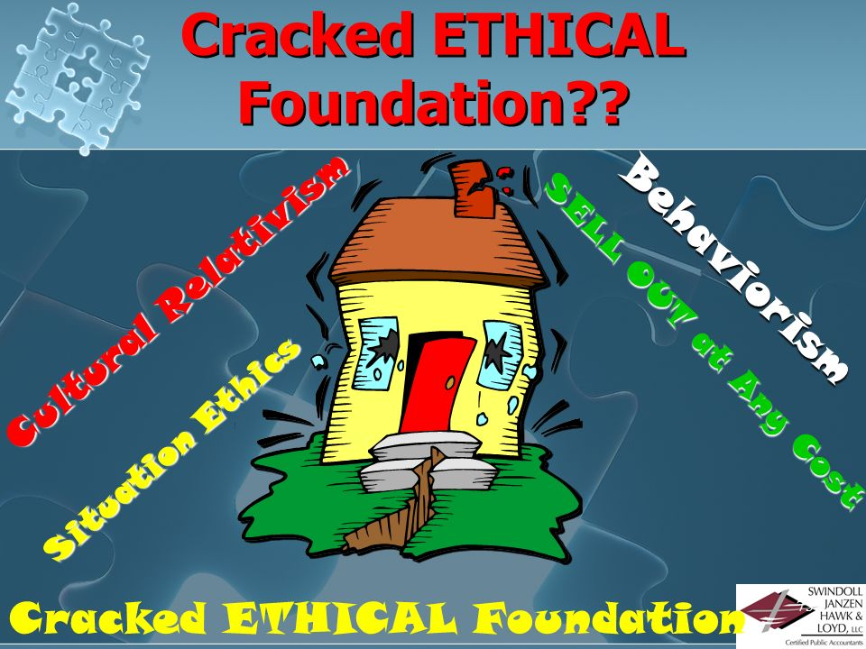 Cracked ETHICAL Foundation