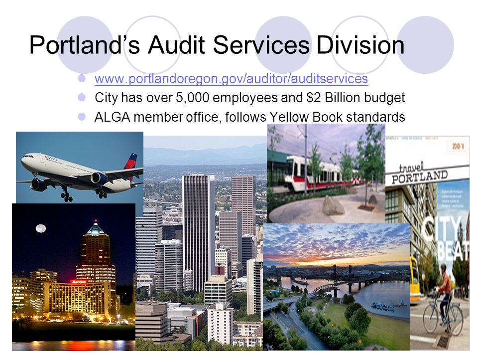 Portland's Audit Services Division