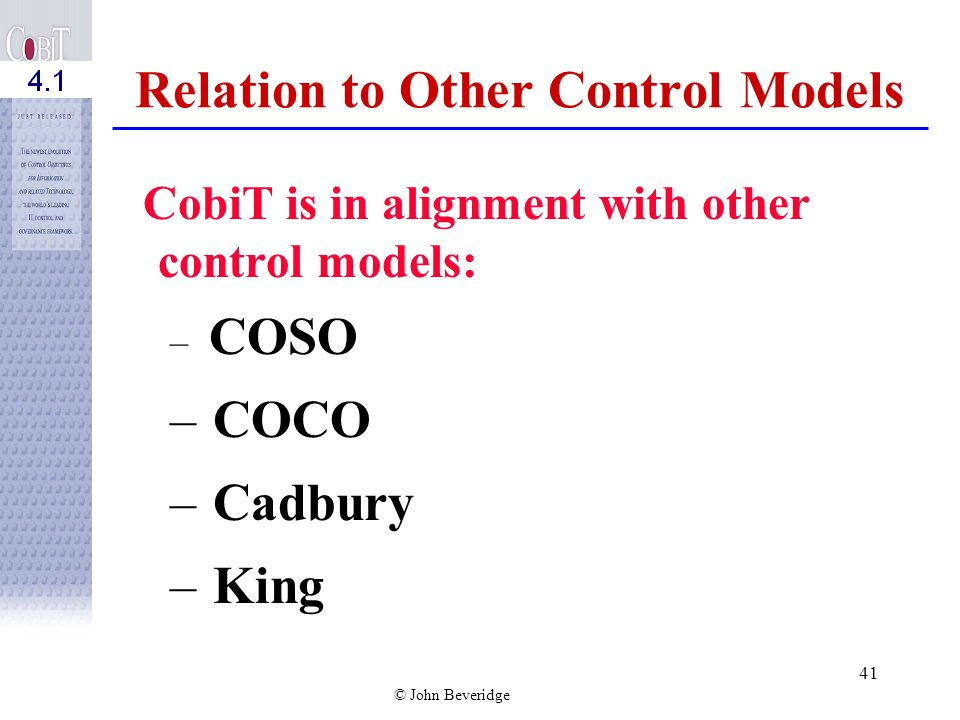 Relation to Other Control Models