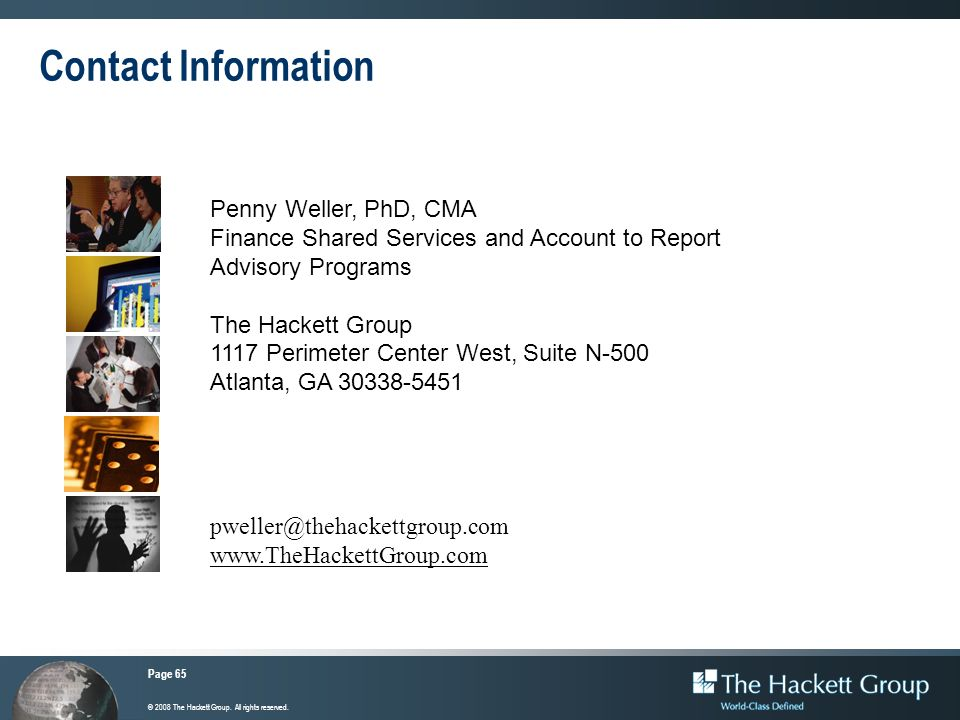 Contact Information Penny Weller, PhD, CMA. Finance Shared Services and Account to Report Advisory Programs.