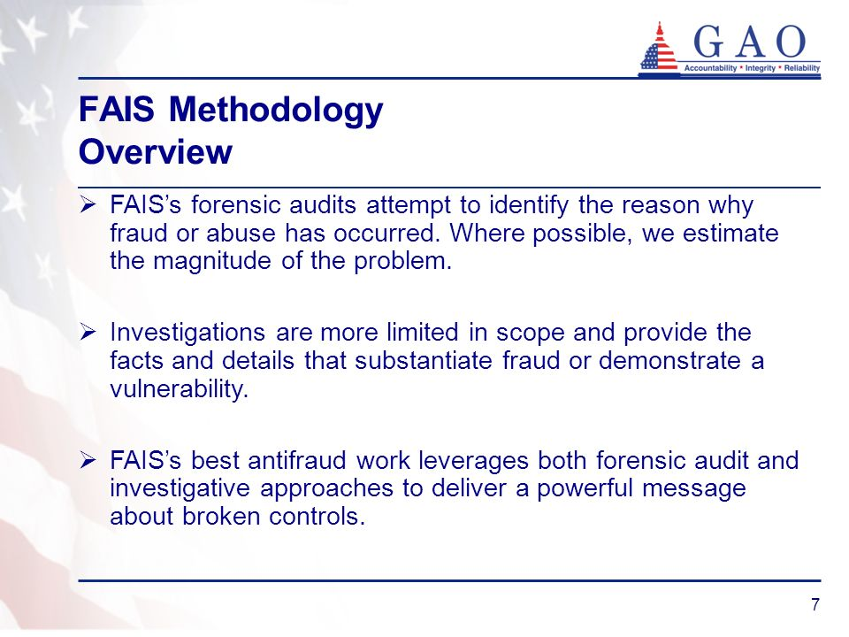 FAIS Methodology Overview