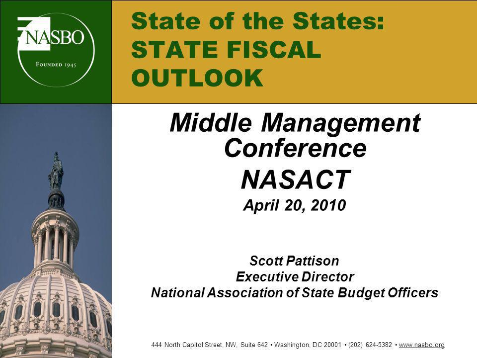 State of the States: STATE FISCAL OUTLOOK