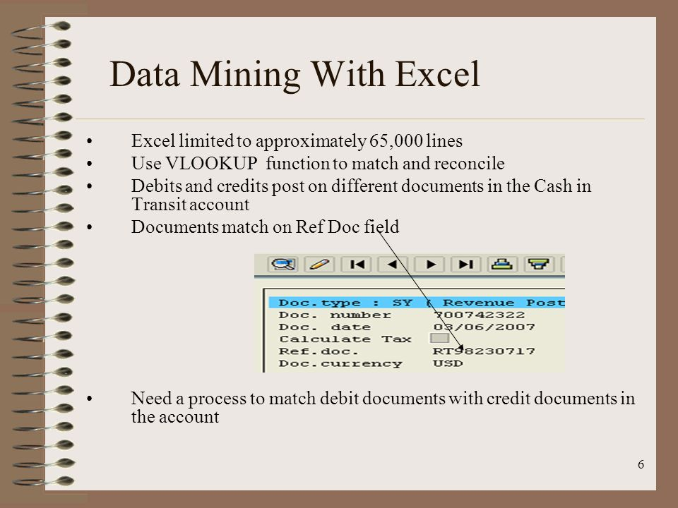 Data Mining With Excel Excel limited to approximately 65,000 lines
