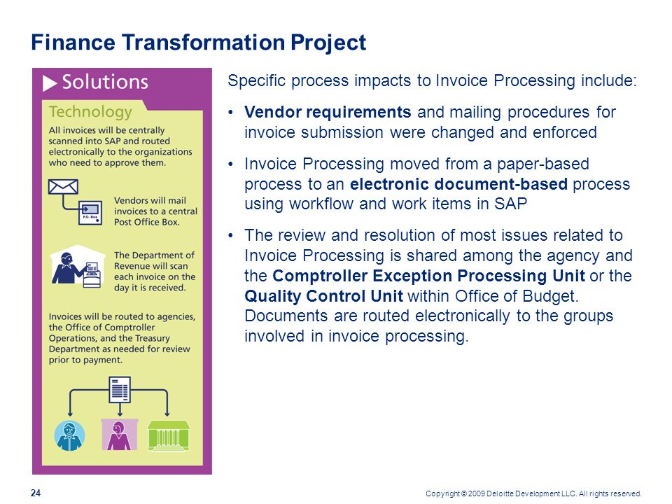Finance Transformation Project