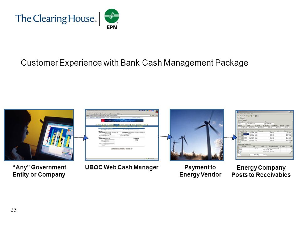 Payment to Energy Vendor Energy Company Posts to Receivables