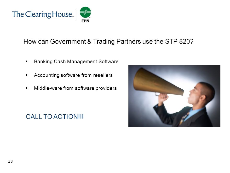 How can Government & Trading Partners use the STP 820