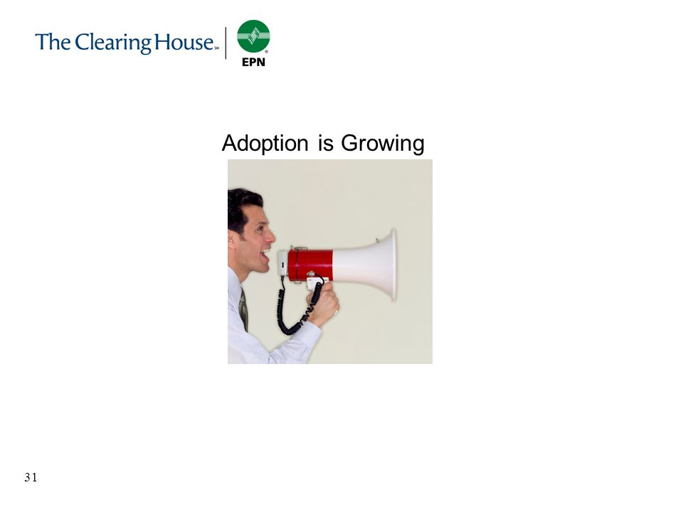Adoption is Growing