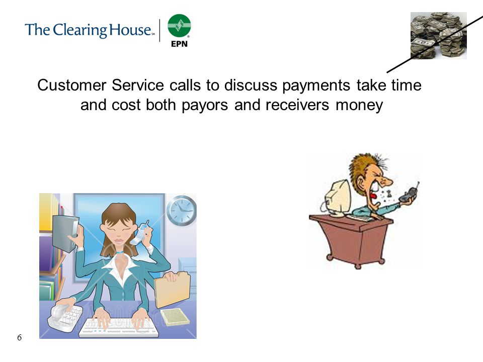 Customer Service calls to discuss payments take time