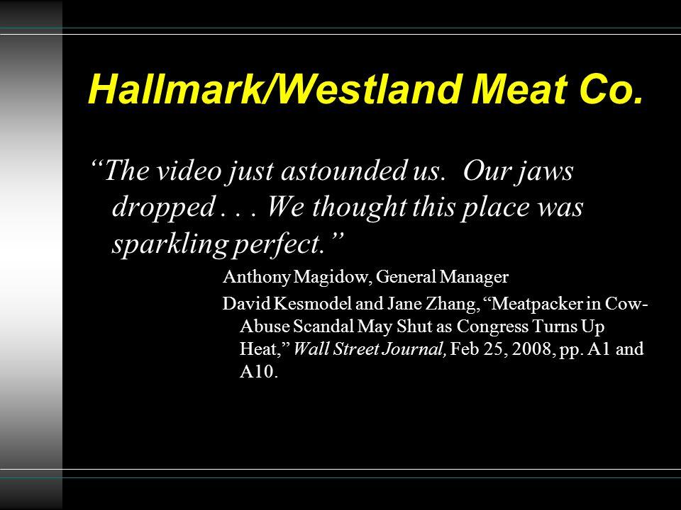 Hallmark/Westland Meat Co.
