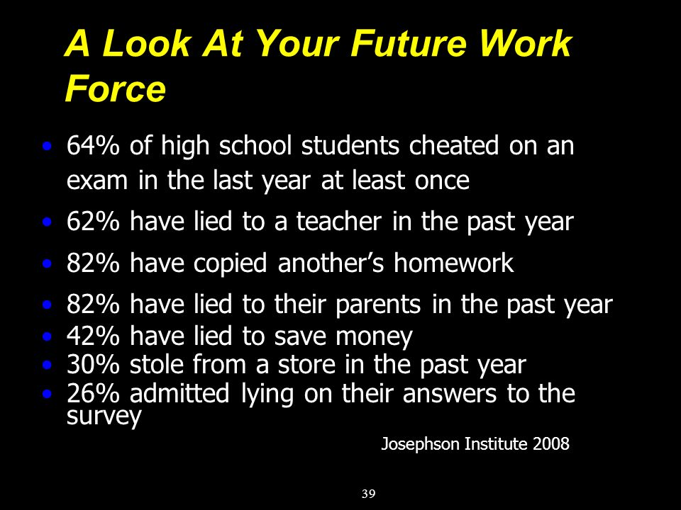 A Look At Your Future Work Force