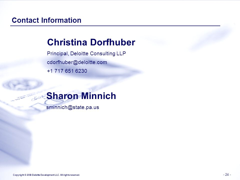 Christina Dorfhuber Sharon Minnich