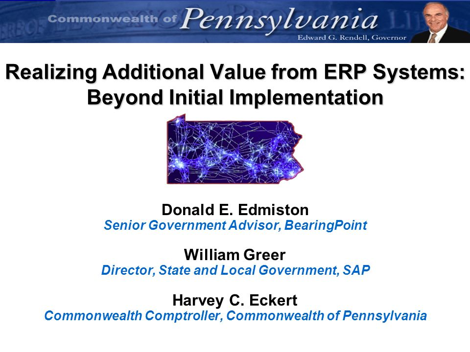 Realizing Additional Value from ERP Systems: Beyond Initial Implementation