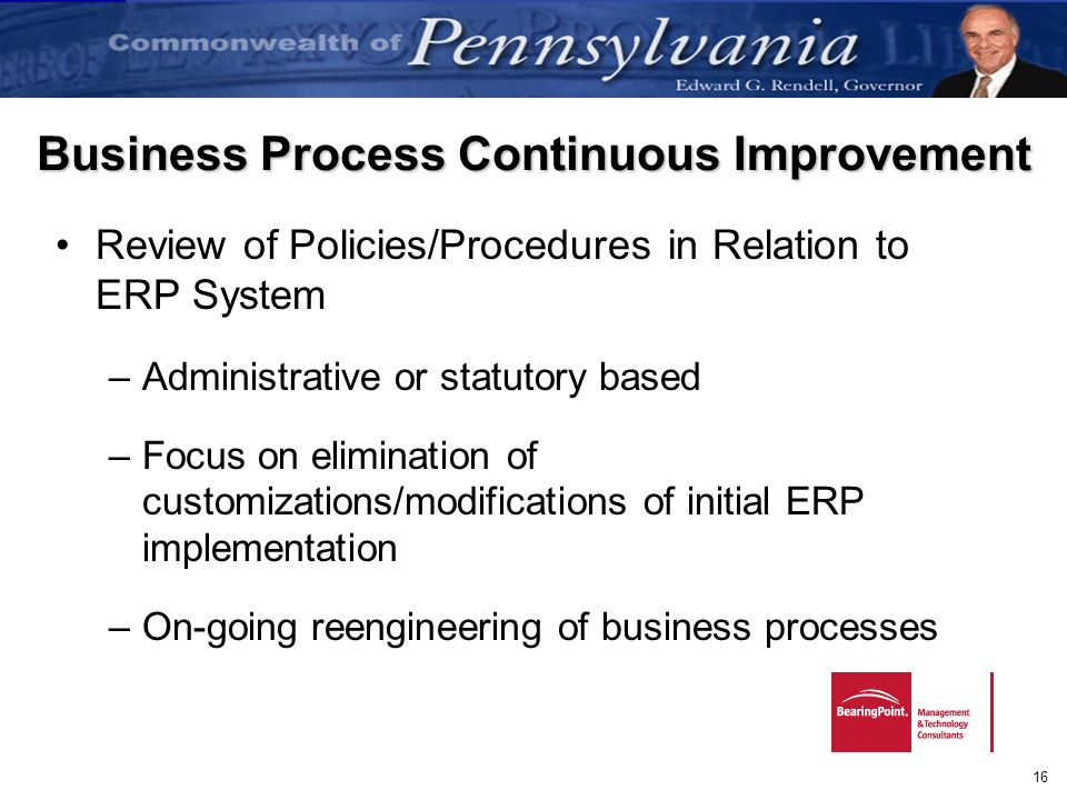 Business Process Continuous Improvement