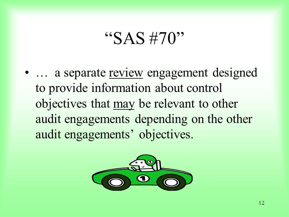 SAS #70