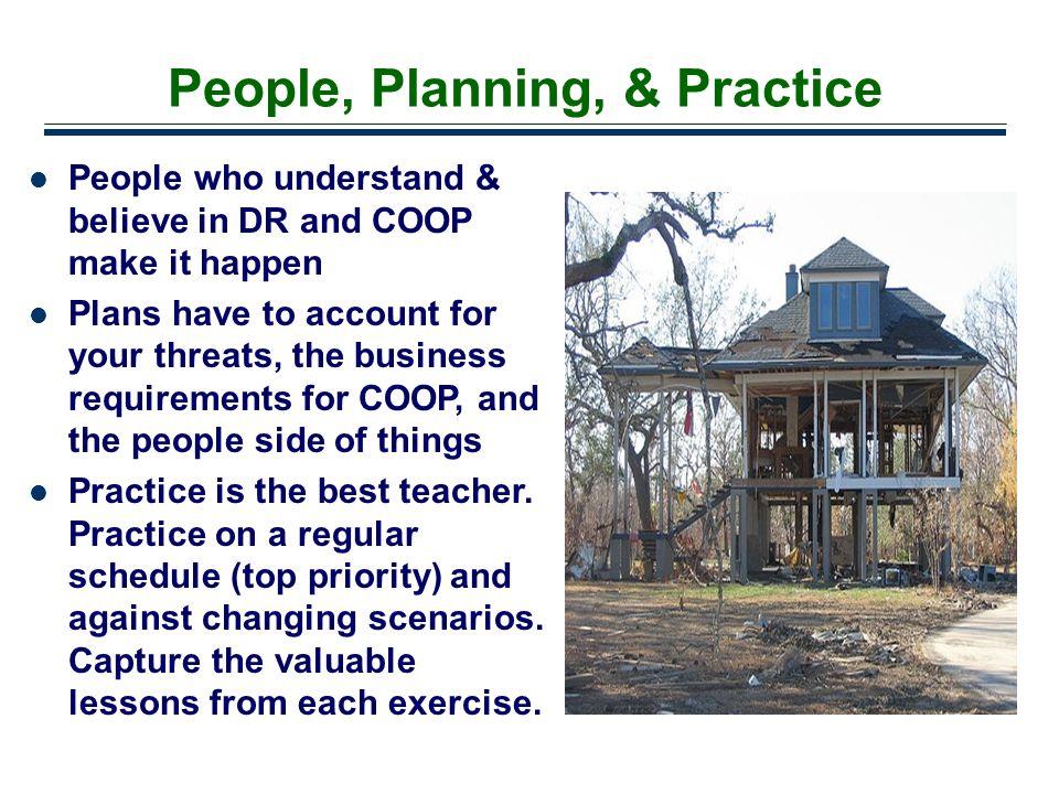 People, Planning, & Practice