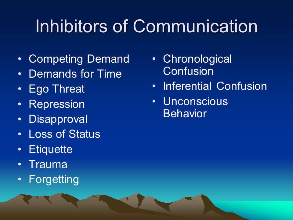 Inhibitors of Communication