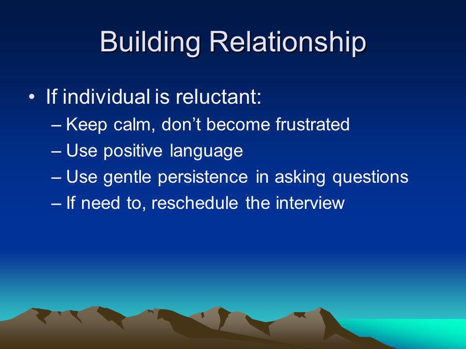 Building Relationship