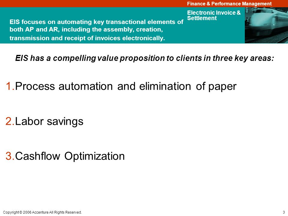 Process automation and elimination of paper