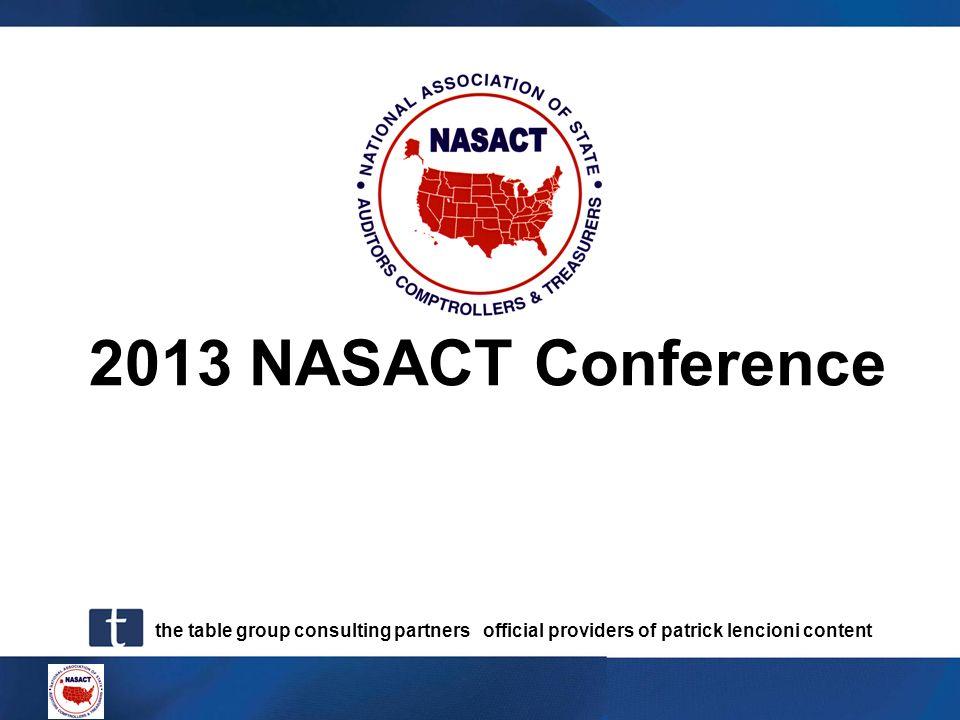 2013 NASACT Conference