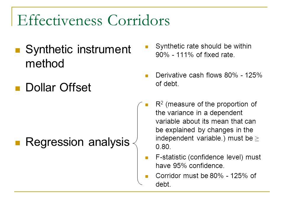 Effectiveness Corridors